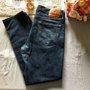 Levi's 541 Dark Wash Jeans 35x32 *7S*
